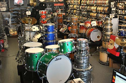 Find Cympads at your local drum store