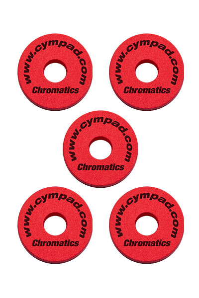 Cympad Chromatics Red 40/15mm Cymbal Pad