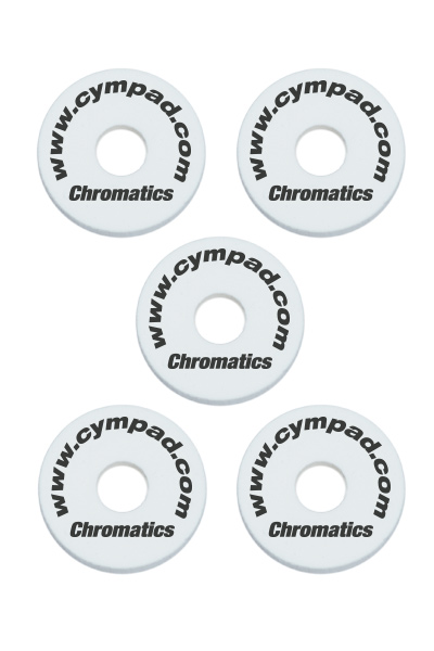 Cympad Chromatics White 40/15mm Cymbal Pad
