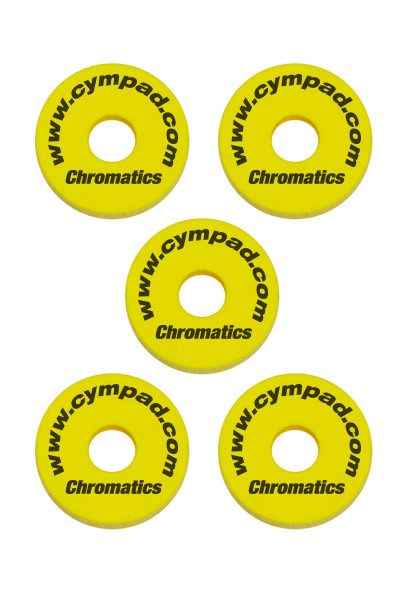 Cympad-Chromatics-Set-Yellow Cymbal Pad
