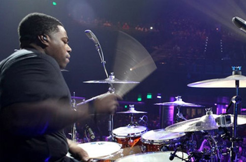 Aaron Spears / Usher, Gideon Band, James Brown, Alicia Keys, American Idol Tour