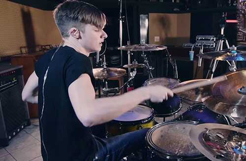 Luke Holland /  The Word Alive, YouTube Star
