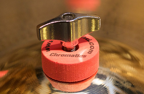 Cympad Chromatics Red Cymbal Pad